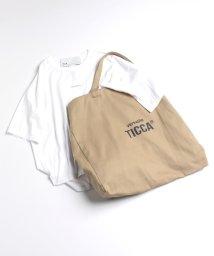 TICCA/【TICCA×川上桃子】versatile ロゴTシャツ&バッグ/503205849
