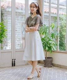 Rewde/サイドボタンスカート(0R10-067557)/503263235