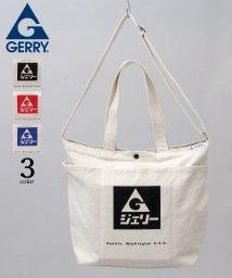 AMS SELECT/【GERRY/ジェリー】カタカナロゴ/ネップキャンバストートバッグ/ショルダーバッグ/503277603