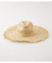 AZUL by moussy/WIDE BRIM FRINGE HAT/503284194