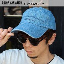 NEXT WALL/「820-47」メンズ キャップ ツイルキャップ デニムキャップ 帽子 綿100%ト mens CAP アメカジ/503284576