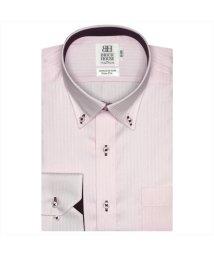 BRICKHOUSE/形態安定 ノーアイロン 半袖ワイシャツ ドゥエボットーニ ボタンダウン/503285657
