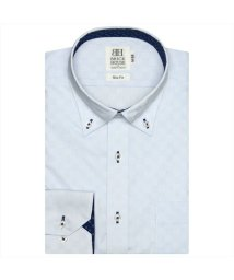 BRICKHOUSE/形態安定 ノーアイロン 半袖ワイシャツ ドゥエボットーニ ボタンダウン/503285659