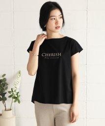 Bou Jeloud/シルケットコットン刺繍ロゴTシャツ/503125843