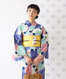 FURIFU/浴衣「傘と紫陽花」/ 夏・花火・祭・綿絽・納涼船・綿/503200496