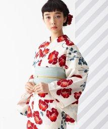 FURIFU/浴衣「注染 ポピー」 / 夏・花火・祭・夕涼み・納涼船・綿/503200498