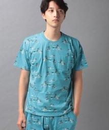 COMME CA MAN/【セットアップ対応商品】コムサメン アイランドプリントTシャツ/503268308
