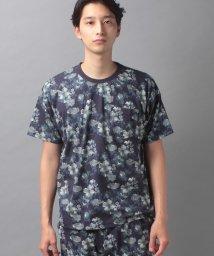 COMME CA MAN/【セットアップ対応商品】コムサメン スケッチフラワープリントTシャツ/503268310