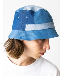 monkey time/<monkey time> PATCH WORK DENIM BUCKET HAT/バケットハット/503275344