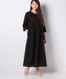 MELROSE Claire/【WEB限定】フロントタックサックワンピース/503275349