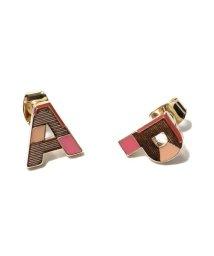atmos pink/アトモスピンク アルファベット ピアス TX/503279524