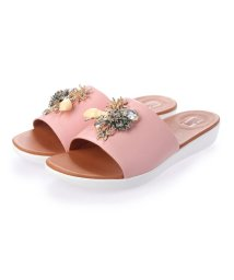 FITFLOP/フィットフロップ fitflop SOLA UNDER THE SEA SLIDES (Soft Pink)/503285878