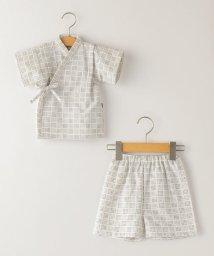 SHIPS KIDS/SHIPS KIDS:刺し子 甚平 ホワイト(80~90cm)/503289176