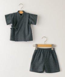 SHIPS KIDS/SHIPS KIDS:刺し子 甚平 ネイビー(80~90cm)/503289178