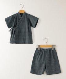 SHIPS KIDS/SHIPS KIDS:刺し子 甚平 ネイビー(100~120cm)/503289278
