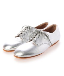 FITFLOP/フィットフロップ fitflop ADEOLA LEATHER LACE-UP DERBYS (Silver)/503289393