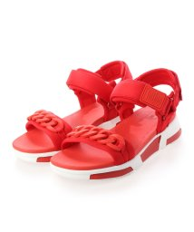 FITFLOP/フィットフロップ fitflop HEDA CHAIN BACK-STRAP SANDALS (Red)/503289408