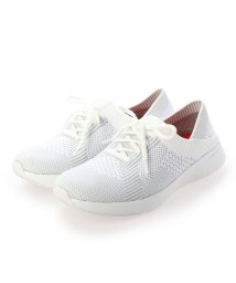 FITFLOP/フィットフロップ fitflop MARBLEKNIT SNEAKERS (White/Storm Grey)/503289416