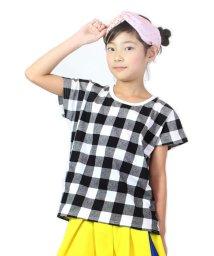 UNICA/チェックTシャツ100~140/503290365