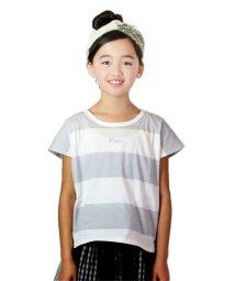 UNICA/ロゴボーダーTシャツ100~140/503290371