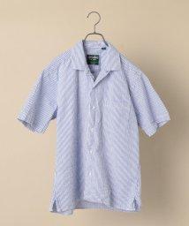 SHIPS MEN/GITMAN VINTAGE: シアサッカー オープンカラー キャンプシャツ/503290458