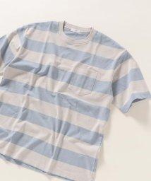 SHIPS any MENS/SHIPS any :リラックス フィット ワイドボーダー Tシャツ/503290577