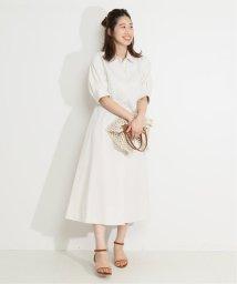 VERMEIL par iena/シェイプシャツワンピース◆/503290582