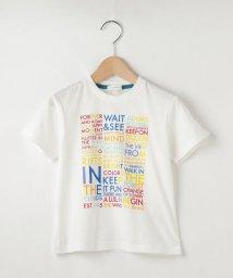 3can4on(Kids)/【100-140cm】カラフル英字ロゴTシャツ/503290732