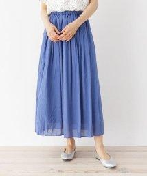 SHOO・LA・RUE DRESKIP/【M-LL】ワッシャーギャザースカート/503290737