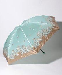 """LANVIN Collection(umbrella)/LANVIN COLLECTION 折りたたみ傘 """"ライン ローズ""""/502931641"""