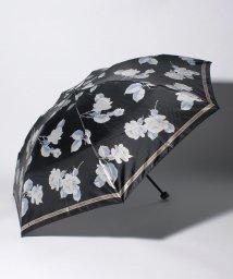 """LANVIN Collection(umbrella)/LANVIN COLLECTION 折りたたみ傘 """"ホワイト ローズ""""/502931643"""