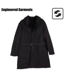 ENGINEEREDGARMENTS/エンジニアド ガーメンツ ENGINEERED GARMENTS コート メンズ リバーシブル SHAWL COLLAR REVERSIBLE COAT ブラッ/503016124