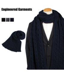 ENGINEEREDGARMENTS/エンジニアドガーメンツ ENGINEERED GARMENTS マフラー ストール メンズ KNIT SCARF ブラック グレー ネイビー 黒 19FH018/503016128
