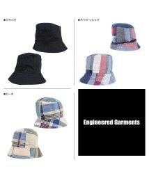 ENGINEEREDGARMENTS/エンジニアドガーメンツ ENGINEERED GARMENTS ハット 帽子 バケットハット メンズ BUCKET HAT ブラック ネイビー カーキ 黒 19/503016139