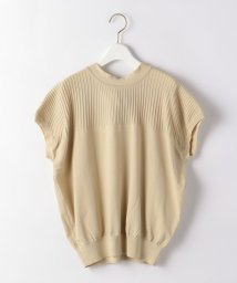 THE STATION STORE UNITED ARROWS LTD./<TORRAZZO DONNA>●バックリボン フレンチスリーブニット/503246062