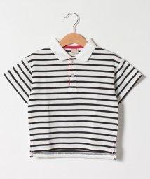 petit main/ボーダーポロシャツ/503275291