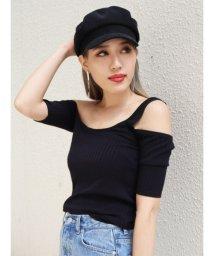 EMODA/カッティングレイヤーフィットTシャツ/503278416