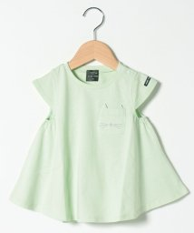 petit main/オーガニックコットン 胸ポケットAラインTシャツ/503278574