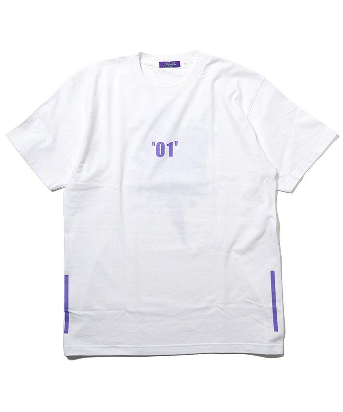 ラヂオエヴァ Abstract EVANGELION T Shirt β(KENTA KAKIKAWA) ユニセックス ホワイト系2 L 【RADIO EVA】