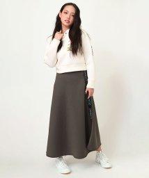 RADIO EVA/CAN(NOT) Flared Line Skirt/503287351