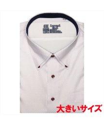 BRICKHOUSE/ワイシャツ 半袖 形態安定 レイヤードクール ボタンダウン 3L・4L メンズ/503291259