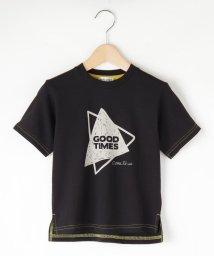 SHOO・LA・RUE(Kids) /【90-130cm】幾何柄ロゴTシャツ/503292439