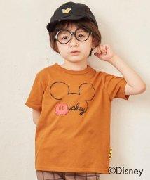 SHOO・LA・RUE(Kids) /【Disney/ディズニー】「ミッキーマウス」デザイン バックスタイルTシャツ/503292803