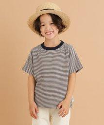 URBAN RESEARCH DOORS(Kids)/FORK&SPOON ミジンボーダーTシャツ(KIDS)/503293248