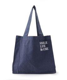 SHOO・LA・RUE/【SMILE LIFE Re USE】リサイクルトートバッグ/503293677