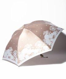 LANVIN en Bleu(umbrella)/LANVIN en Blue(ランバン オン ブルー)折りたたみ傘 【シルエット マーガレット】/502596971