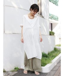 Ungrid/サイドスリットロングシャツ/503252597