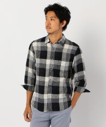 NOLLEY'S goodman/ヨーロピアンリネン 七分袖シャツ/503281258