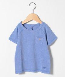 LAGOM/【lagom】ポケット付きピグメントTシャツ/503282570