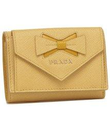 PRADA/プラダ 折財布 レディース PRADA 1MH021 2B7S F0YBP イエロー/503286292